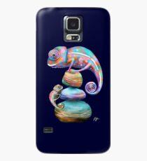 Chamäleons Hülle & Klebefolie für Samsung Galaxy