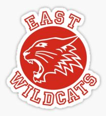East High Wildcats (High School Musical) Sticker