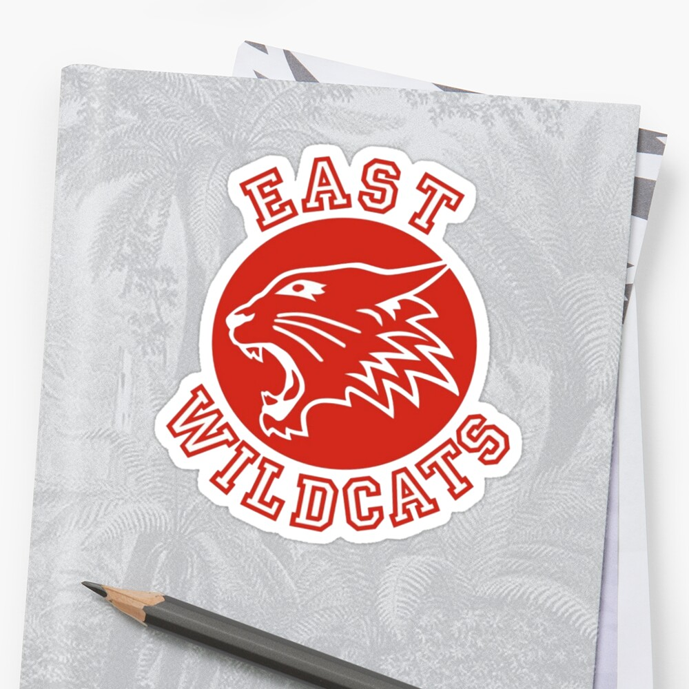 Uncategorized East High Wildcats Logo east high wildcats school musical stickers by karen cho musical