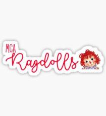 MCA Ragdolls Sticker