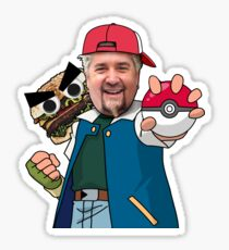 Pokemaster Guy Fieri Sticker