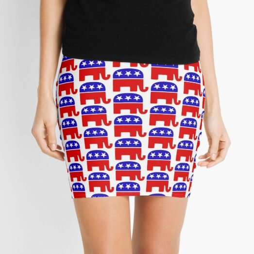 GOP Elephant Mini Skirt