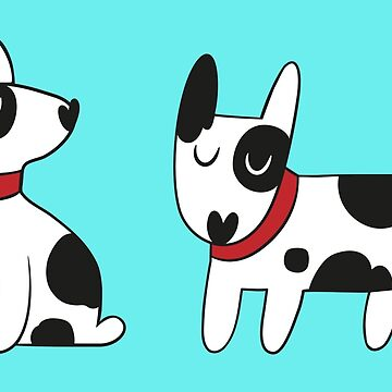 Bull Terrier Dog by DCstore