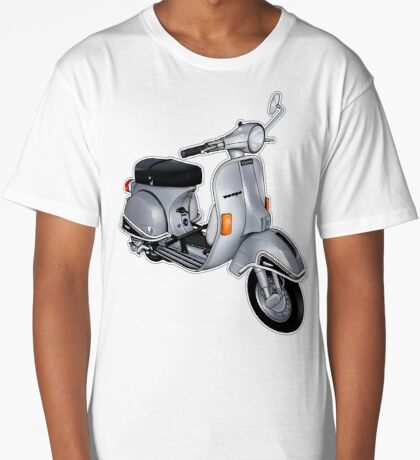 Scooter T-shirts Art: P200e vintage scooter Long T-Shirt