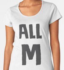 """My Hero Academia - Midoriya's """"All M"""" T-Shirt & Memorabilia Women's Premium T-Shirt"""