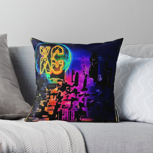 KC Spectrum Throw Pillow