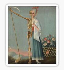 Folk Art - Life and Death Sticker