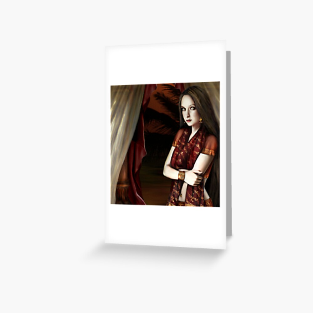 The Vagabond Queen Greeting Card