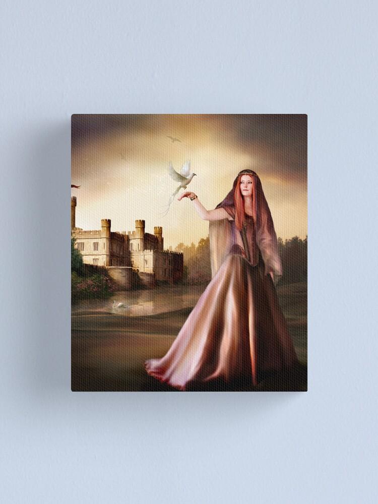 Alternate view of Rhiannon Canvas Print