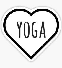 LOVE YOGA! Sticker