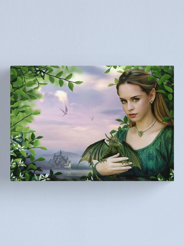Alternate view of Eärwen  Canvas Print