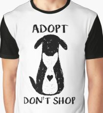 Adopt don't shop Graphic T-Shirt