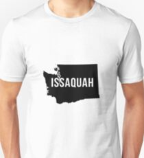 Issaquah, Washington Silhouette Unisex T-Shirt