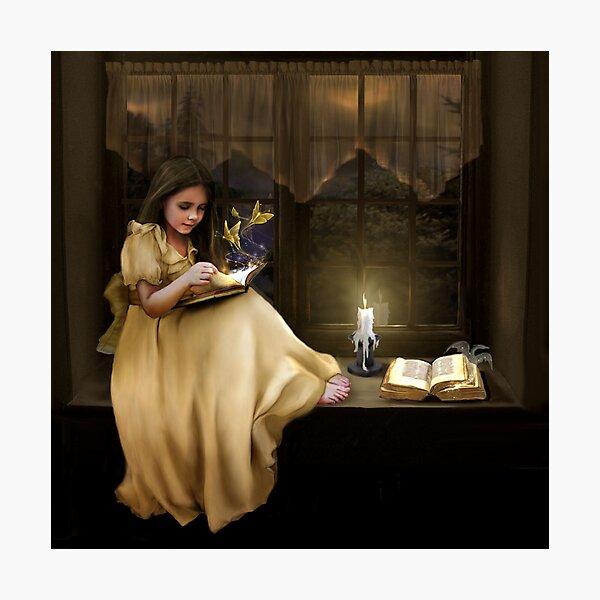 The Magic of Books Photographic Print