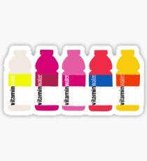 rainbow vitamin waters  Sticker