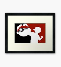 Pokemon Pokeball - Pokemon Go Framed Print
