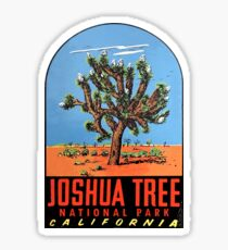 Joshua Tree National Park Vintage Travel Decal Sticker