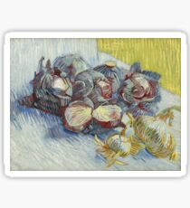 Vincent van Gogh - Red Cabbages and Onions (1887)	 Sticker