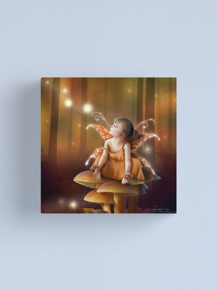 Alternate view of Faerydae  Canvas Print
