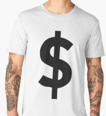 DOLLAR SIGN $$$$$ Men's Premium T-Shirt