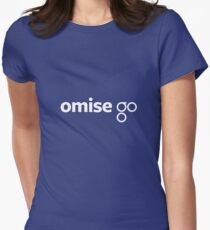 OmiseGO Logo Women's Fitted T-Shirt