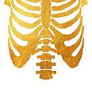 gold skeleton by katrinawaffles