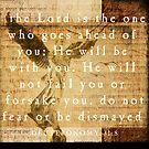 Deuteronomy 31:8 by Dallas Drotz