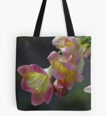 A Gorgeous Freesia Tote Bag