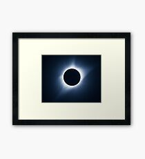 2017 Solar Eclipse - Totality Corona III Framed Print