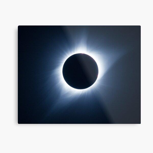 2017 Solar Eclipse - Totality Corona III Metal Print