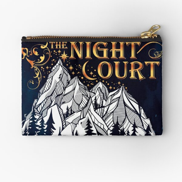 A Court of Wings and Ruin, The Night Court Zipper Pouch