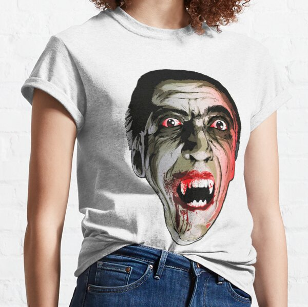 Dracula Christopher Lee Classic T-Shirt