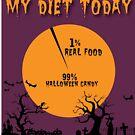 Meine Diät heute - 1% Real Food 99% Halloween Candy von ItsMyParty