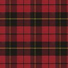 Wallace Red Original Scottish Tartan by Vickie Emms