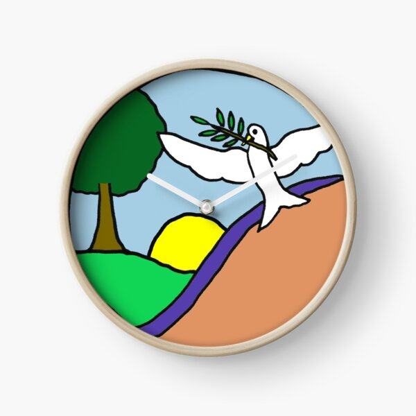 Peace Messenger Clock