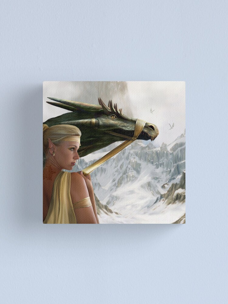 Alternate view of Dragon Keeper  Canvas Print