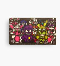 Sister Location Five Nights at Freddy's  Canvas Print