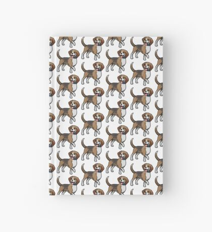 Beagle Hardcover Journal