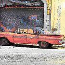 Cuban Car Grafitti by skaranec1981