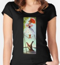 Tight Rope Girl Women's Fitted Scoop T-Shirt