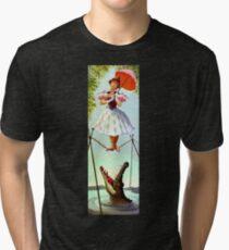 Festes Seil-Mädchen Vintage T-Shirt