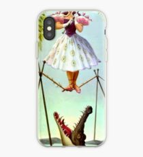 Tight Rope Girl iPhone Case