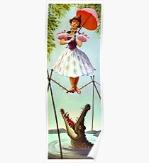 Tight Rope Girl Poster