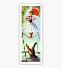 Festes Seil-Mädchen Sticker