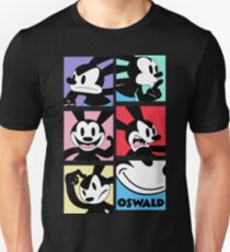 Oswald the Lucky Rabbit: Faces T-Shirt