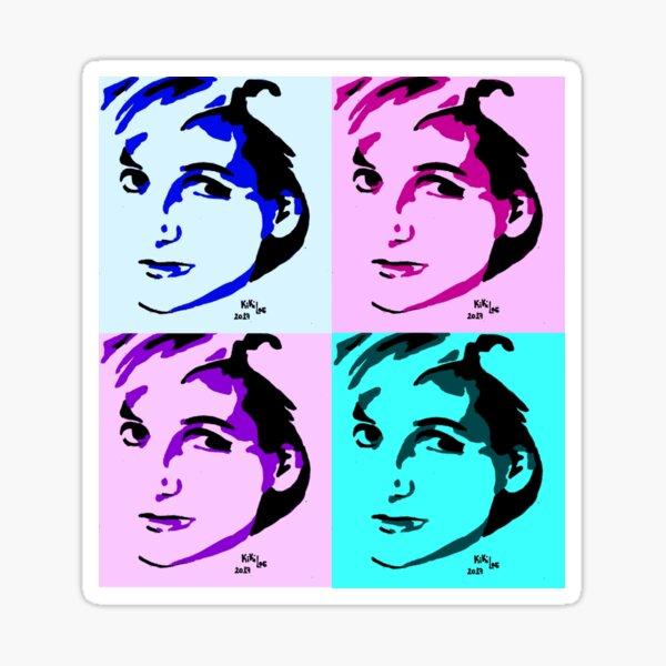 Princesa Diana de Gales Pegatina