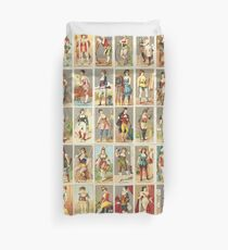 Occupations for Women Series Trading Cards Massive collage! Duvet Cover