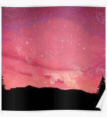 Acid Rap/Coloring Book Sky Poster