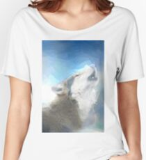 wolf art Women's Relaxed Fit T-Shirt