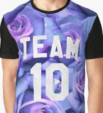 Purple Rose Jake Paul Team 10 Graphic T-Shirt